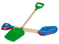 "Toy ""Shovel with Wooden Handle TechnoK"", art. 2902"