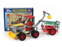 "Metallic construction set ""Tractor with a trailere TechnoK"", art. 4876"