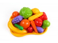 Toy «Fruits and vegetables set TechnoK», art. 5347