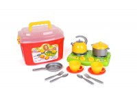 "Toy ""Cookware set 10 TechnoK"""
