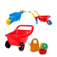 Watering cans and Wheelbarrows